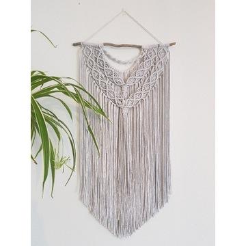 Makrama makaria dekoracja boho sznurek bawełniany