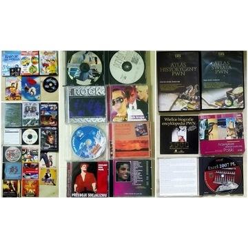 Kolekcja płyt CD/DVD