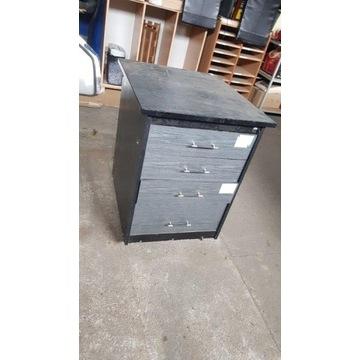 kontener na kółkach do warsztatu, garażu