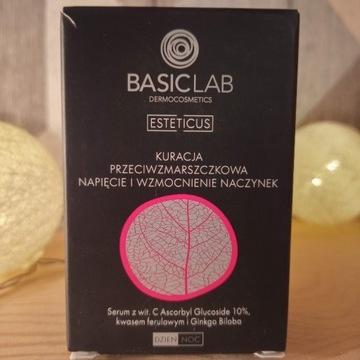 BasicLab - serum z witaminą C 10% na dzień i noc