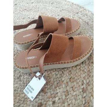 Sandałki na platformie H&M