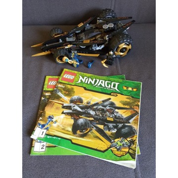 Lego 9444 Ninjago - Szturmowiec gąsienicowy Cole'