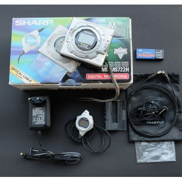 SHARP minidisc recorder TOP model