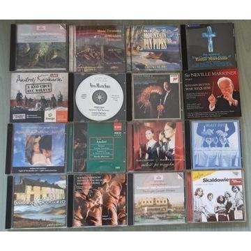 Zestaw płyt CD ok. 65 szt - gł. muzyka klasyczna
