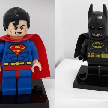 Zestaw! 2 lego figurki : Batman i Superman