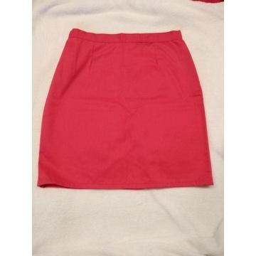 Spodnica mini medyczna/kosmetyczna koral 36 XS/S