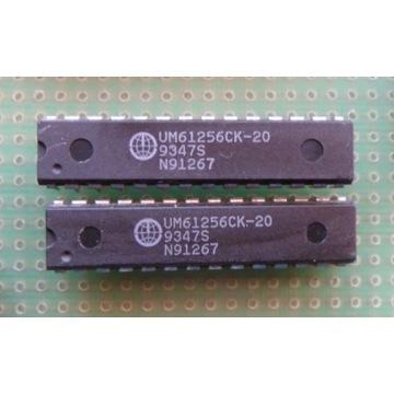 UM61256CK-20 = 61256 32K x 8-Bit High Speed SRAM