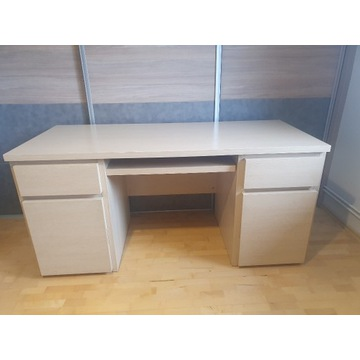 Biurko, komoda, szafka nocna, komplet używane