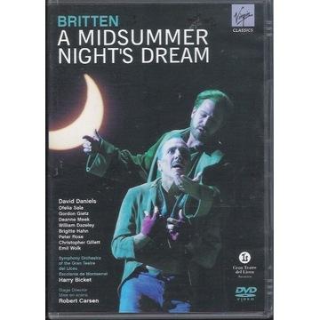 BRITTEN A MIdsummer Night's Dream DANIELS 2DVD
