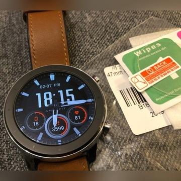 Ochronne Szkło Hartowane Xiaomi Amazfit GTR 47mm