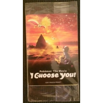 POKEMON TCG I CHOOSE YOU !  3 KARTY ASH PIKACHU