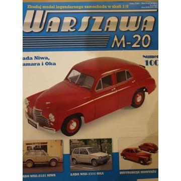Model do samodzielnego złożenia WARSZAWA M-20