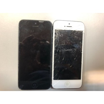IPhone  5 biały i czarny