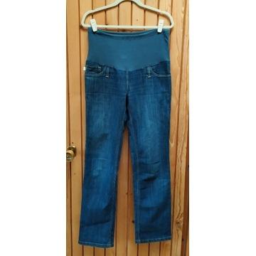 Spodnie jeans ciążowe r. M stan dobry