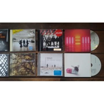 Kolekcja płyt CD: U2, Paul McCartney, Travis i in.