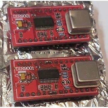 Moduł odbiornika DIR9001do DAC-a