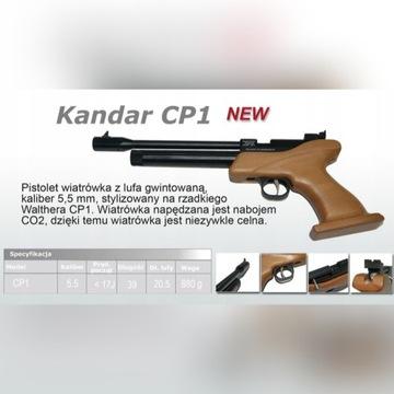 Kandar CP1 5.5mm CO2 * KOLIMATOR * GWARANCJA *
