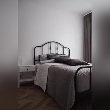 IKEA - łóżko Sagstua 140x200 + materac Hokkasen