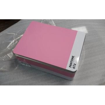 Pudełko metalowe Seletti Pantone 672 różowe pink