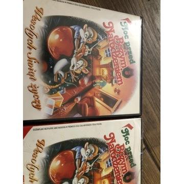 Film VCD noc przed bożym narodzeniem 2 sztuki