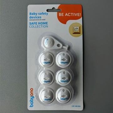 BABYONO zabezpieczenie gniazdek elektrycznych 6szt