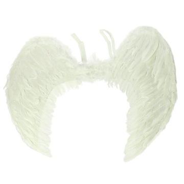 Duże Skrzydła Anioła z Naturalnych Piór