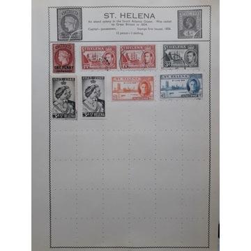 GB - kolonie angielskie- St. Helena