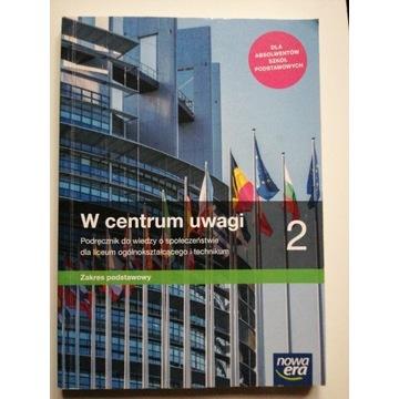W centrum uwagi 2, podręcznik do WOSu