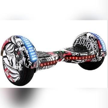 Hoverboard-10-Deskorolka-Swiatła-LED 2x350 Watt