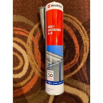 Klej i szczeliwo Wurth K+D 300ml - kolor szary