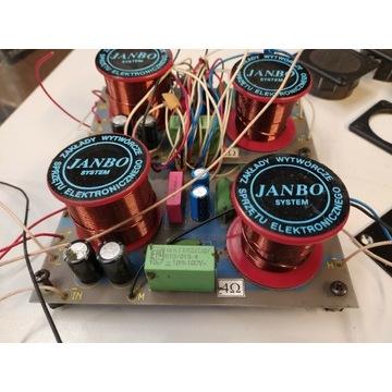 Zwrotnice głośnikowe trójdrożne JANBO 4 om 300 wat