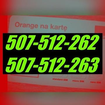 507-512-262,507-512-263,DLA DWOJGA,ORANGE NA KARTĘ