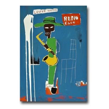 Jean-Michel Basquiat LESTER YOUNG