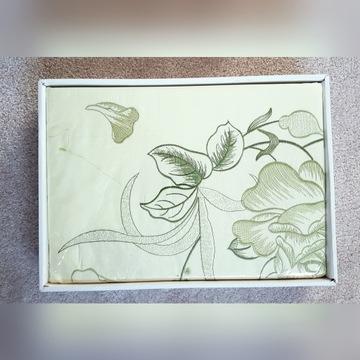 Pościel haftowana bawełniana 160x200 cm