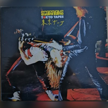 Płyta CD SCORPIONS Tokyo Tapes