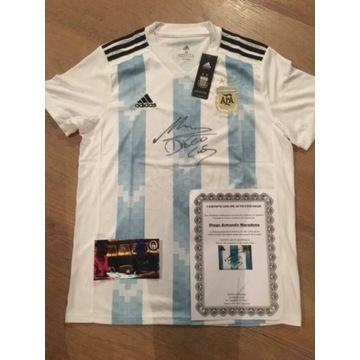 Koszulka legendy DIEGO MARADONA Argentyna