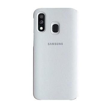 Etui cover Wallet Samsung a40 białe nowe oryginał