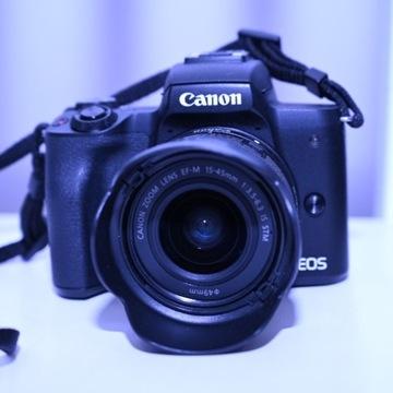 Canon M50 + obiektyw