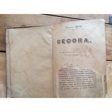 Stara książka CECORA