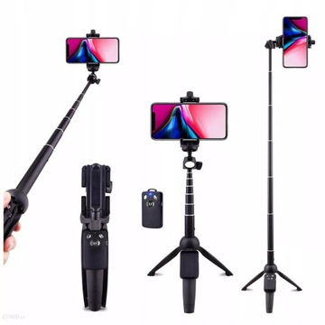 Kijek Selfie Stick Bluetooth do Iphone 12 11 8 7