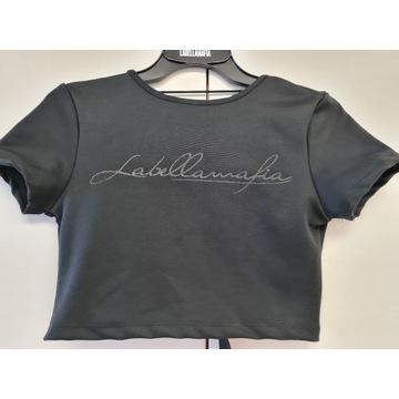 Koszulka LABELLAMAFIA z nadrukiem r.S -70%