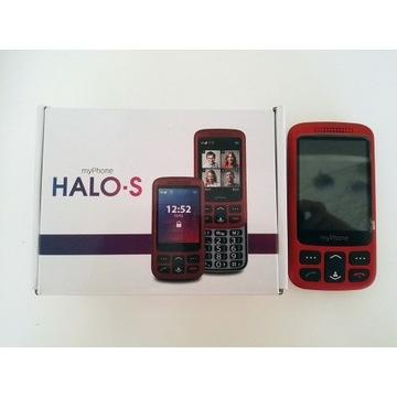 Telefon dla seniora MyPhoneHALO-S gwarancja czerwo