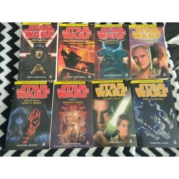 Kolekcja książek Star Wars! 20 Tomów!