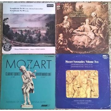 Mozart Haydn Boskovsky Vienna Octet DECCA 4LP