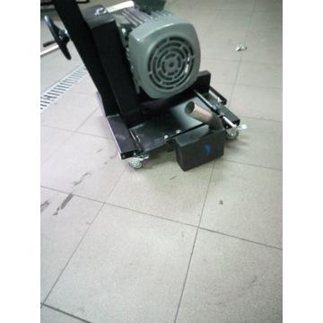 Frezarka do rowków w betonie, ogrzewanie podłogowe