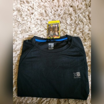 Karrimor czarny t-shirt do biegania r.M