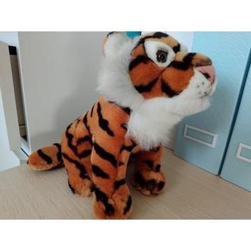 Maskotka duży tygrys zwierzątko pluszak