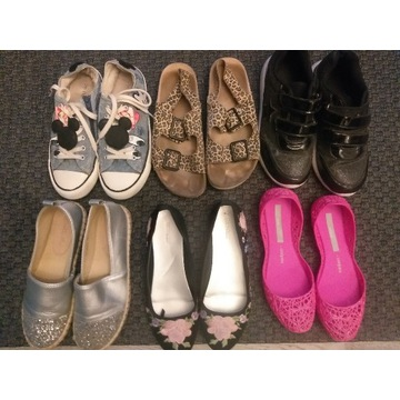 Buty r.35 Melissa Zara trampki balerinki sandałki
