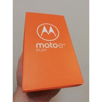 NOWA Motorola MOTO e6 Play, zaplombowana