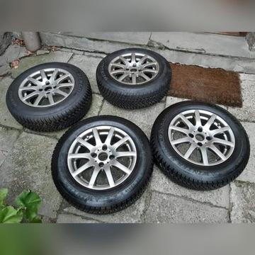 Alufelgi 4x108 + opony 195/65 R15 Dunlop Zima